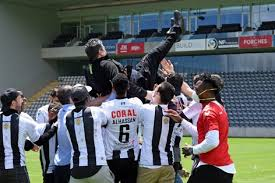 All information about farense (liga nos) current squad with market values transfers rumours player stats fixtures news. Farense And Nacional Celebrate Promotion Amid Olhanense Fury