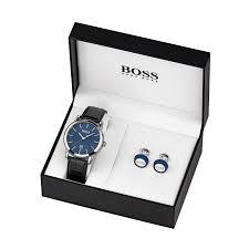 Mens Designer Watch Gift Set Hugo Boss Gift Set Mens 1570092