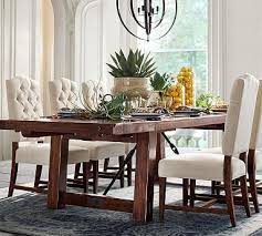 benchwright extending dining table potterybarn sooo excited about this we bought this table dining room