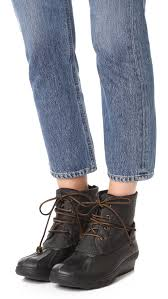 Sperry Saltwater Wedge Tide Booties Shopbop Save Up To 25