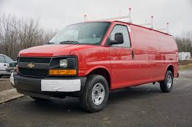 2013 Chevy Express with Weather Guard Ladder Rack | Heavy Hauler ...