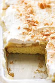 Banana Cream Pie Sheet Cake Chef In Training