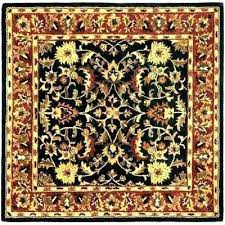 square rug furniture square rug rugs area heritage black with regard to square outdoor rug design