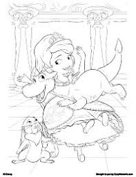 Small Picture Coloring Pages Sofia The First Coloring Pages Bestofcoloring
