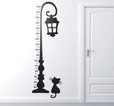 Lamp Post Height Chart Sticker
