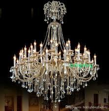 extra large crystal chandelier lighting entryway high ceiling regarding popular property large crystal chandeliers designs