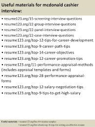 Mcdonalds Cashier Resume Objective For Cashier Resume Zaxa Tk