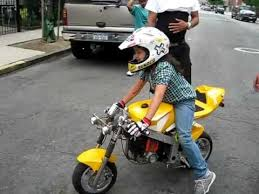 riding my mini motorcycle youtube