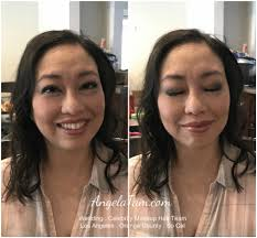 ventura county asian makeup and updo hair design by angela tam makeup artist team