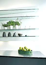 Led Floating Glass Shelves glass floating shelves zautoclub 93
