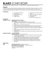 Stocker Resume Free Resume Example And Writing Download