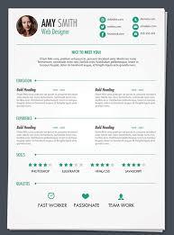 40 Resume Template Designs Freecreatives