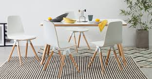 dining table set oak. sonny dining table set with 4 chairs, oak and white - sets tables | made.com