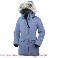 Canada Goose Coat Womens Canada Goose Trillium Parka Arctic Frost For Women