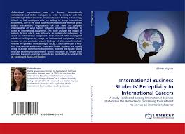 international business students receptivity to international bookcover of international business students receptivity to international careers 9783844309102