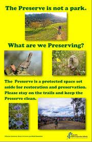 Trail Tips Habitat Authority