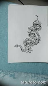 эскизы тату змей для девушек 08032019 005 Tattoo Sketches