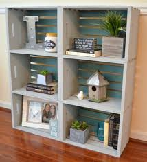 this diy tutorial from one artsy mama says that she used an air nailer to nail the crates together but i m sure you could use a good ol hammer and nails