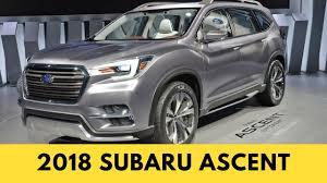 2018 subaru 8 seater. fine seater 2018 subaru ascent  best suv and subaru 8 seater e