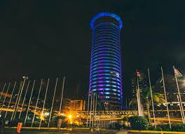 Kenyan Cabinet Secretaries Lighting Up Nairobis Iconic Building For Christmas