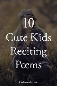 add a little cuteness to your celebration of national poetry month with these 10 videos of