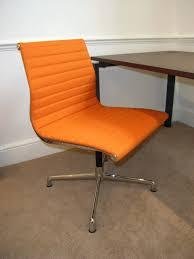 Desk Chairs Orange Office Chair Ikea Leather Nz Canada Orange