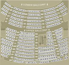 First Interstate Center For The Arts Seating Chart Seating Chart Bing Crosby Theater