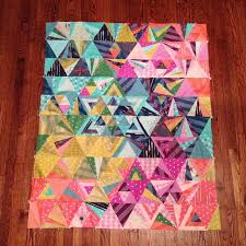 Tessellation Sew Along Winners! - Sew Sweetness & This quilt was entered by lschafer on Instagram and made with Cotton and  Steel basics! Adamdwight.com