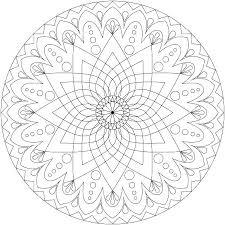 Print Mandalas Print Mandala Coloring Pages Mandalas Coloring Pages
