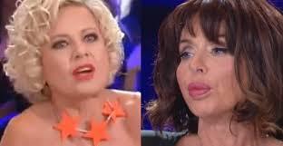 Scontro in tv tra la Marini e Antonella Elia: