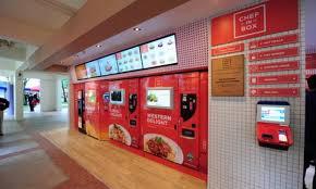 Vending Machine Restaurant Singapore Custom Unmanned Cafeterias Fresh Meals Singapore Business Review
