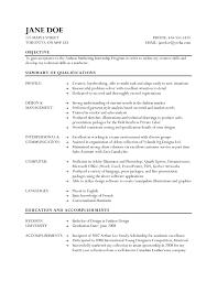 Resume Retail Skills Retail Fashion Cv Examples Resume Fashion Retail Skills Retail 1