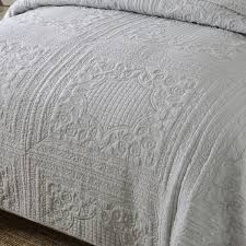 CHAUSUB Gray Washed Cotton Quilt Set 3pcs Embroidery Quilts Bed ... & CHAUSUB Gray Washed Cotton Quilt Set 3pcs Embroidery Quilts Bed Cover Soft Quilted  Bedspread American Coverlet King size 4colors-in Quilts from Home ... Adamdwight.com