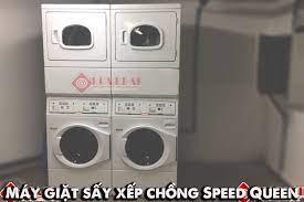 MÁY GIẶT SẤY XẾP CHỒNG - Máy giặt công nghiệp Hòa Phát