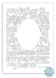 Small Picture Free Fathers Day Coloring Page Tried True