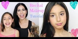 natural kids dance recital makeup tutorial dance makeup for the se you
