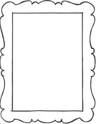 Paper Picture Frame Templates Printable Picture Frames Templates Your Own Picture Frame Coloring