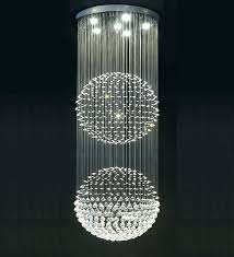 glass ball chandelier glass ball chandelier glass ball chandelier fresh 7 best stairwell lighting images on