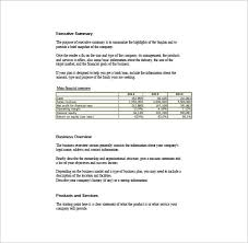 Basic Business Plan Outline Free Simple Business Plan Template Template Business