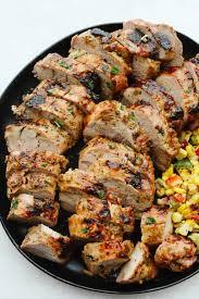 grilled pork tenderloin with honey