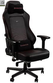 <b>Игровое кресло Noblechairs Hero</b> (Черный / красный) купить за ...