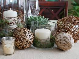 Glass Jar Table Decorations Dining Room Thanksgiving Dinner Decor With Table Runners And 93