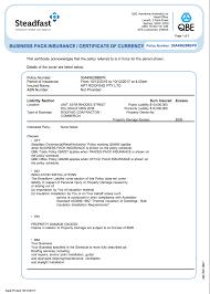 public liability qbe insurance ltd policy no 30a496288bpk 10 000 000
