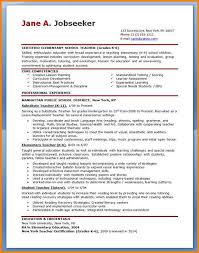 7 Resume Examples For Teachers Happy Tots