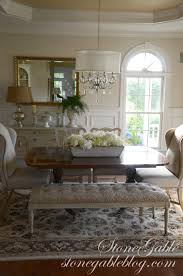 dining room table with upholstered bench. A Little While Ago I Showed You An Upholstered Bench Bought At World Market. Dining Room Table With
