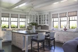 white and gray kitchens