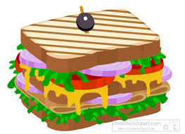 sandwich clipart. Perfect Clipart Clubsandwichwithhamclipartjpg Intended Sandwich Clipart C