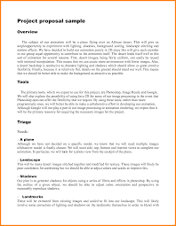 Project Proposal Sample Revolutionary Concept Format Of Example
