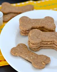 baked dog treats filled with pumpkin and peanut er