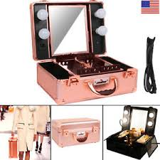 image is loading unho studio togo makeup case organizer lighted